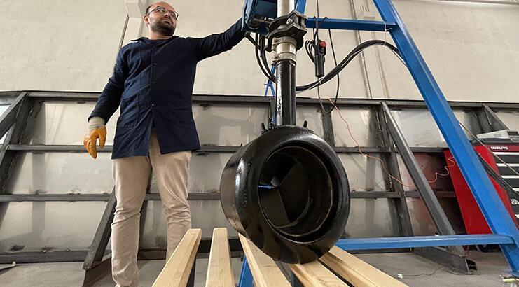 Türk mühendisleri üretti, hayalet motor suda iz bırakmayacak!