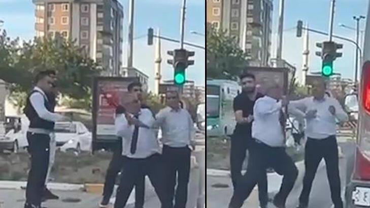 Otobüs şoförü, yol verme tartışmasında sopayla saldırdı! thumbnail