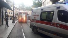Eminönü'nde korkutan yangın! Otel boşaltıldı
