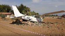 Eğitim uçağı düştü! İlk açıklama