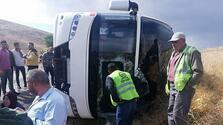 Tur otobüsü devrildi! Ölü ve yaralılar var