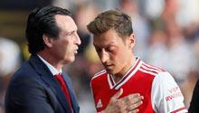 "Emery: ""Saldırıdan sonra Mesut Özil..."""