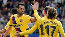 Barça süper yıldızlarıyla kazandı! Messi...