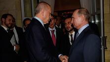 Erdoğan Rusya'dan ayrıldı