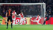 Ajax, Devler Ligi'nde 86'da yıkıldı!