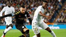 M.City, Real Madrid'i devirdi! 3 gol, 1 kırmızı...