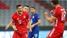 Chelsea'yi Lewa yıktı! 5 gol sesi...