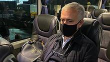 Mourinho'dan otobüste şok paylaşım!