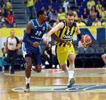 Fenerbahçe Beko - Türk Telekom maçında gergin anlar