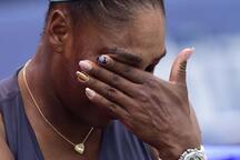 Serena Williams gözyaşlarına hakim olamadı!