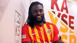 Emmanuel Adebayor, Kayserispor'a imzayı attı!