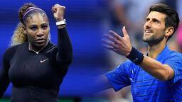 Serena Williams ve Djokovic üçüncü tura yükseldi