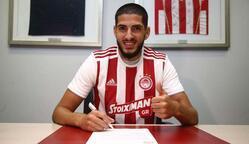Yassine Benzia, Olympiakos formasıyla!