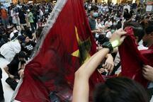 Son dakika... Hong Kong'da protestocular AVM'yi işgal etti!