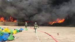 Kırıkkale'de fabrika yangını