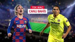 Barcelona - Villarreal canlı bahis heyecanı Misli.com'da