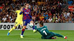 Barcelona-Villarreal: 2-1