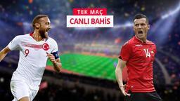 Türkiye–Arnavutluk maçına Misli.com'da canlı oyna!