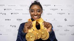 Simone Biles'ten tarihi rekor