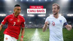 Bulgaristan - İngiltere maçı heyecanı Misli.com'da