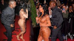Kim Kardashian ve Kanye West'in 'elbise' tartışması