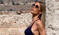 Isla'nın eşi Gala Caldirola, sosyal medyada gündem olmaya devam ediyor!