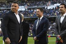 Luis Figo, Ronaldo'nun eşi için yaptığı yorumu affetti!