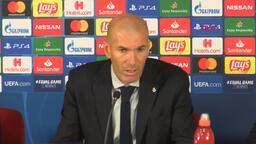 Zinedine Zidane: Courtois ilk yarıda bizi kurtardı