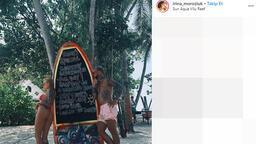 'Süper yenge' Irina çırılçıplak fotoğraf paylaştı