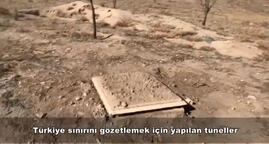 MSB: Barış Pınarı Harekat bölgesinde terör tünelleri kapatılıyor