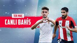 Sevilla- Athletic Bilbao maçı canlı bahis heyecanı Misli.com'da