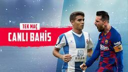 Espanyol – Barcelona maçı canlı bahisle Misli.com'da!