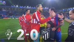 Atletico Madrid'e Granada şoku! 2-0