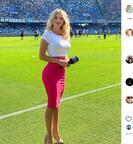 ''Göğüslerini aç'' polemiği sürüyor! Diletta Leotta'ya eleştiri geldi...
