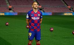 Barcelona'nın yeni transferi Braithwaite ilk antrenmanına çıktı!