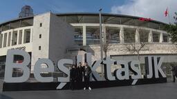 Beşiktaş Trabzonspor maçına saatler kala Vodafone Park'ta heyecan dorukta!