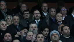 """Spor Bakanı Kasapoğlu: """"Keyifli bir maç oldu"""""""