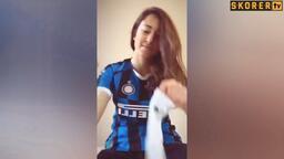 Inter kadın futbol takımı tuvelet kağıdı sektirme akımına uymadı!