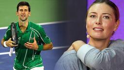Sharapova, Djokovic ile geçirdiği akşamı anlattı