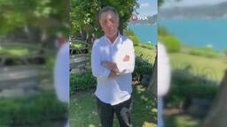 Ahmet Nur Çebi, Beşiktaş camiasının bayramını kutladı!