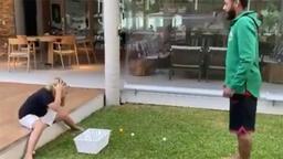 Neymar'dan oğluna 'yumurta' şakası...