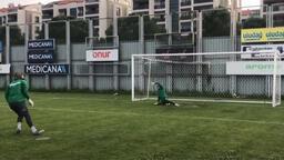 Çağlar Şahin Akbaba vs Emrullah Şalk: Penaltı Challenge