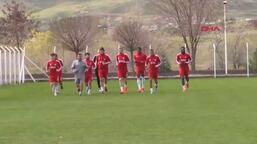 Demir Grup Sivasspor antrenmanından görüntüler