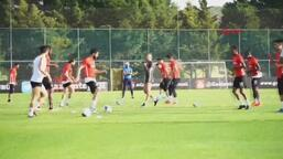 Gaziantep FK antrenmanından görüntüler