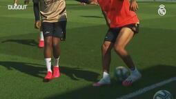 Real Madrid ilk kez tam kadro antrenman yaptı