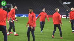 Timo Werner RB Leipzig İle Antrenmanda