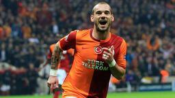 Sneijder'den Galatasaray taraftarına mesaj: Nasılsın iyi misin?