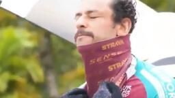 Ünlü golcü Fred, 4 bin aileye yardım için 441 km'yi bisikletle gitti...