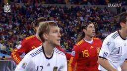 Puyol'un, İspanya'yı Dünya Kupası Finali'ne taşıyan kafa golü