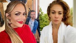 Jennifer Lopez'den makyajsız paylaşım!